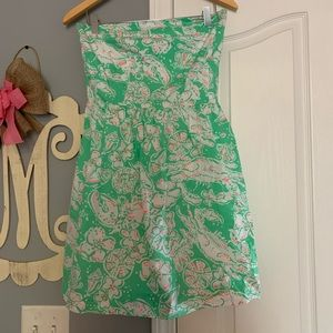 Strapless Lilly Pulitzer Dress